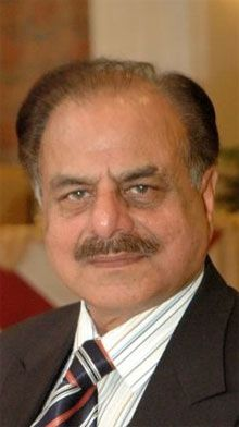 Hamid Gul (Urdū:حمید گل; born 20 November 1936) HI(M), SBt, is a retired high-ranking general officer in the Pakistan Army, and a former spymaster famous for serving as the Director-General of the Inter-Services Intelligence (ISI), Pakistan's premier intelligence agency, between 1987 and 1989 during the late stages of and post-stages of the Soviet war in Afghanistan.[1] Gul is widely known and credited for pressing the hard-line policies on India after starting the insurgency in Kashmir
