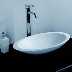 The DW-164 is a great looking sink made of durable white stone resin composite with a ellipseshapeand contemporary style design. The stone resin material comes in a matte and glossy finish. This counter mounted sink will surely be a great addition to your already stylish bathroom. This sink will add a neat and modern touch to your new renovation with its elegance and high quality construction. Item#: DW-164 Product Size (inches): 23.6 x 13.7 x 4.1 inches Material: Solid Surface/Stone ...