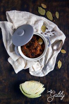 Kulinarne przygody Gatity - przepisy pełne smaku: Wegański bigos (dieta dr Dąbrowskiej)