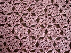 Crochet motif Shawl Part 1