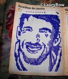 #MichaelPhelps make by mother' ©LauryRow  https://www.facebook.com/merveillesdetentesdelaury