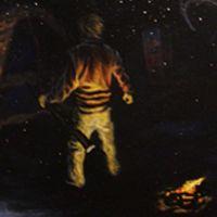 artist Jamie Powers at Gary Bowlings House of Art Bluefield, WV