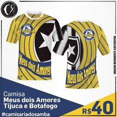 Camisa Meus dois Amores - Tijuca e Botafogo