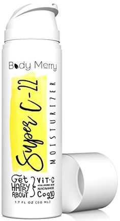 Super Moisturizer- Vitamin C Cream w Hyaluronic Acid - Serum Anti-Aging Lotion for Wrinkles & Acne - Best Lotion for Day or Night Use - Amped w Niacinamide. *** Don't get left behind, see this great product : Best Anti Aging Products Organic Face Products, Best Face Products, Sensitive Acne Prone Skin, Vitamin C Cream, Acne Dark Spots, Best Lotion, Lotion For Dry Skin, Retinol Cream, Anti Aging Moisturizer