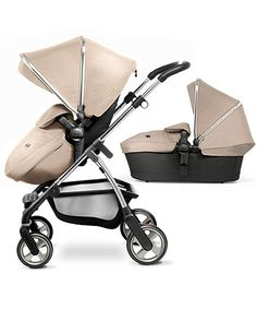 Silver Cross Wayfarer Pram & Pushchair - Sand & Chrome