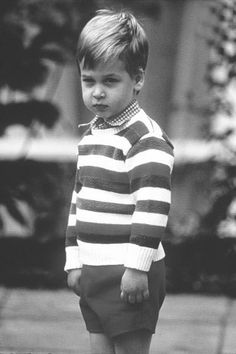 Prince William is too much. I knew who this was at first glance. Says a lot. I love these boys and their late mother. I will never forget Diana, my 3rd child was born right after she was killed.