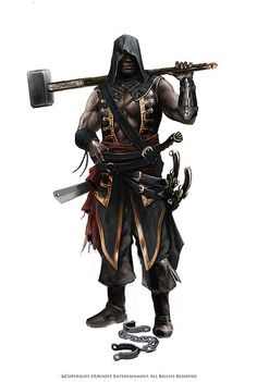 Assassin's Creed : Adewale.