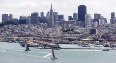 Luna Rossa vince la terza regata delle semifinali contro Artemis Racing | BLU : BLU