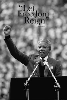 Nelson Mandela----his American Dream is freedom with all black people.                                                                                                                                                                                 More