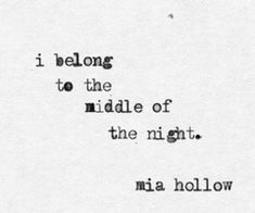Mia Hollow