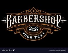 Find Barbershop Logo Design Vintage Lettering Illustration stock images in HD and millions of other royalty-free stock photos, illustrations and vectors in the Shutterstock collection. Thousands of new, high-quality pictures added every day. Barber Shop Interior, Barber Shop Decor, Shop Interior Design, Vintage Logo Design, Vintage Lettering, Hand Lettering, Logo Barbier, Best Barber Shop, Barber Logo