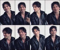 (: Cute shots of Ian being his normal ornery self (: