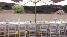 romantic bridal shower tablescape