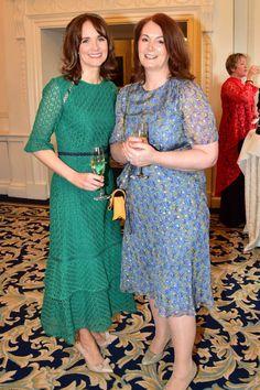 Catriona Cody & Catherine McLoughlin. Pic:  Justin Farrelly Celebrity Gossip, Irish, Female, Celebrities, Lady, Beauty, Dresses, Fashion, Vestidos