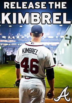 Atlanta Braves closer, Craig Kimbrel.
