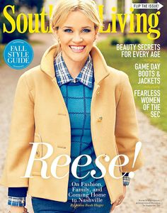 Actress, Model @ Reese Witherspoon - Southern Living September 2015