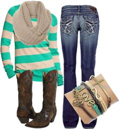 """Girly Country"" by small-town-country-gurl on Polyvore"