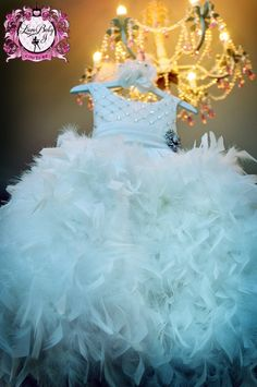 Cheap princess dress, Buy Quality dress high directly from China dresses pageant Suppliers: luxurious Crystal Beaded Feather Ruffles Girsl Pageant Dresses High Waist Jewel Sash Princess Holy Communion Dress Year Old Girls Party Dress, Baby Girl Dresses, Flower Girl Dresses, Flower Girls, Teen Dresses, Princess Dresses, Dress Girl, Baby Girls, Princess Style