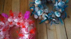 Skořápkové velikonoční věnce II. - Na vyfouklá vejce jsme použili techniku decoupage, vše jsme na korpus přilepili tavnou pistolí, kromě skořápek jsme použili i sisál, lýko a peří. ( DIY, Hobby, Crafts, Homemade, Handmade, Creative, Ideas, Handy hands) Hanukkah, Decoupage, Easter, Wreaths, Crafts, Diy, Home Decor, Garlands, Build Your Own