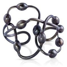 Seaweed Cuff (Oxidized) : Gogo Jewelry #Bracelet #Jewelry