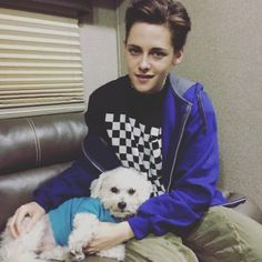 Team Kristen Site: New/old photo of Kristen on the 'Lizzie' set