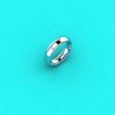 Platinum 5mm Men's Wedding band by Masterjeweler on Etsy