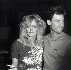 Goldie Hawn and Kurt Russel