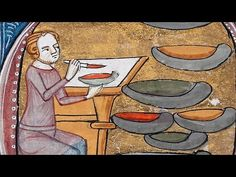 """""""The Alchemy of Color and Chemical Change in Medieval Manuscripts"""" -- Appreciated today for its aesthetic qualities, color during the Middle Ages was also understood for its material, scientific, and medicinal properties. The manufacture of colored pigments and inks was part of the science of alchemy, the forerunner of modern chemistry. Concerned with the transformation of matter, alchemy was closely tied to artistic practice."""