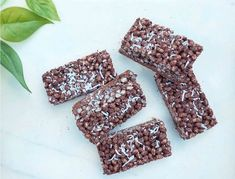 Looking for a healthy snack? Look no further than these delicious Crispy Rice Puff Chocolate Brownies. The perfect afternoon pick me up.