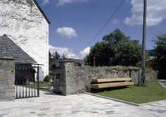 Bench at the Village Square Zweinitz by Soehne & Partner architects