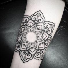 mandala tattoo vorlage