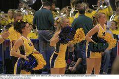 From the 2011 Womens Big Ten Basketball Tournament, held at Conseco Fieldhouse in Indianapolis Indiana March 4, 2011. The  Michigan Wolverines played the University of Illinois Fighting Illini in a second round game, eventually won by the University of Illinois.  Michigan Wolverine cheerleaders  Cheerleader 啦啦队员啦啦隊員 majorette μαζορέτα ragazza チアリーダー 치어리더 líderdaclaque чирлидер animadora 相當 உற்சாகமூட்டல் Cheerleadereiden cheerleadingu Pom-pom girls