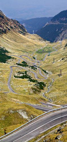 "Transfagarasan Highway Romániában - ""A legjobb út a világ TOP GEAR"