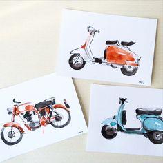 Drawing vintage wheels #illustration #vintage #motorcycle #vespa #lambretta…