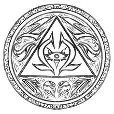 Aztec symbol of truth and wisdom.