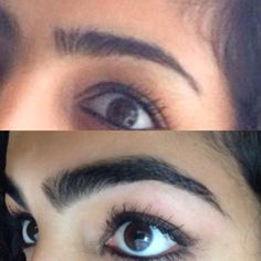 Do you want natural thick brows? Here's a way to grow out your eyebrows fast and naturally. View my transformation to see how it helped me! I used coconut oil! Every night before bed massage a good amount of coconut oil in your brows and leave it over night. I guarantee you will see improvement in your eyebrows in the first week of using this trick ! #eyebrows #transformation