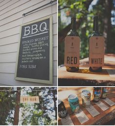 bbq wedding food