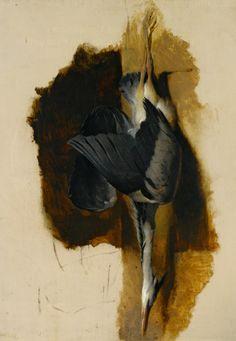 Sir Edwin Henry Landseer, Study of a Dead Heron