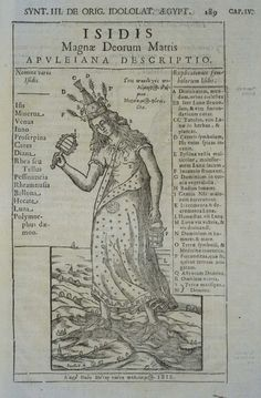 74 best isis the mighty goddess images on pinterest isis goddess isidis magn deorum matris book illustration in oedipus aegyptiacus by athanasius kircher published between 1652 fandeluxe Choice Image