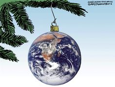 LOVE this 'Christmas ornament'!  .....links to a blog; can't find original source : (  Cartoon by Gary Markstein.