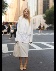Stylist Ada Kokosar - the layers more than the all white.