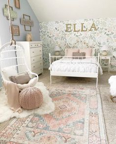 The ruching and ruffles on our Chic White Beddy's completes the look in this FAIRY PRINCESS PALACE and we have no doubt it would be perfect in your room too! 📷: @bless_this_nest #beddys #zipperbedding #zipyourbed #girlbedding #girlbed #beddysbeds #girlyroom #girlsroomdecor #girlsroom #girlsroominspo #girlsroominspiration #girlsroomdecoration #girlsroomstyling #girlystuff #bedding #beddings #homedecor Hanging Swing Chair, Swinging Chair, My New Room, My Room, Girls Bedroom, Bedroom Decor, Girl Nursery, Bedroom Ideas, Zipper Bedding