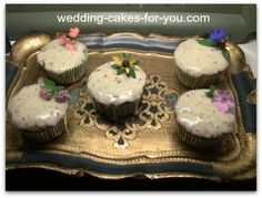 Orange cake recipe cupcakes. The entire orange is used in this wonderfully delicious recipe. Find the recipe at Wedding Cakes For You.