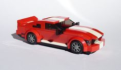 https://flic.kr/p/FfmLz7 | Shelby GT500 | 2005-2008 Shelby GT500. Original Mustang model: derjoe: www.flickr.com/photos/53163759@N04/16586700327/in/datepos... I use front end and side panel for my version. Alternate model for Speed Champions Ford Mustang (75871).