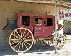 "Stage Coach - Not exactly ""Express Mail""."