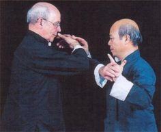 Maître Chu et Yves Blanc
