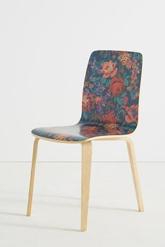 Slide View: Liberty for Anthropologie Tamsin Dining Chair Paradise Garden, Bent Wood, Interior Exterior, Design Crafts, Home Furniture, Office Furniture, Interior Inspiration, Dining Chairs, Dining Rooms