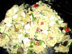 Simple Greek Scrambled Eggs #SANE http://SANESolution.com