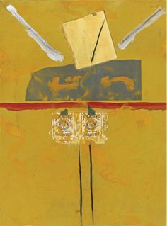 Robert Motherwell PICAYUNE, 1967 gouache and paper collage on paper mounted to canvas 24 x 18 in. Robert Motherwell, Richard Diebenkorn, Abstract Expressionism, Abstract Art, Literary Themes, City Gallery, Lake Art, Collage Art Mixed Media, Mark Rothko