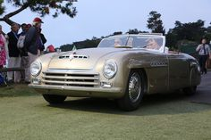 1946 Alfa Romeo 6C 2500 S Pininfarina Cabriolet Special